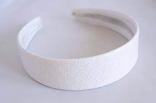 Bandeau Blanche de 3 cm en Blanc. envoi gratuit 72h