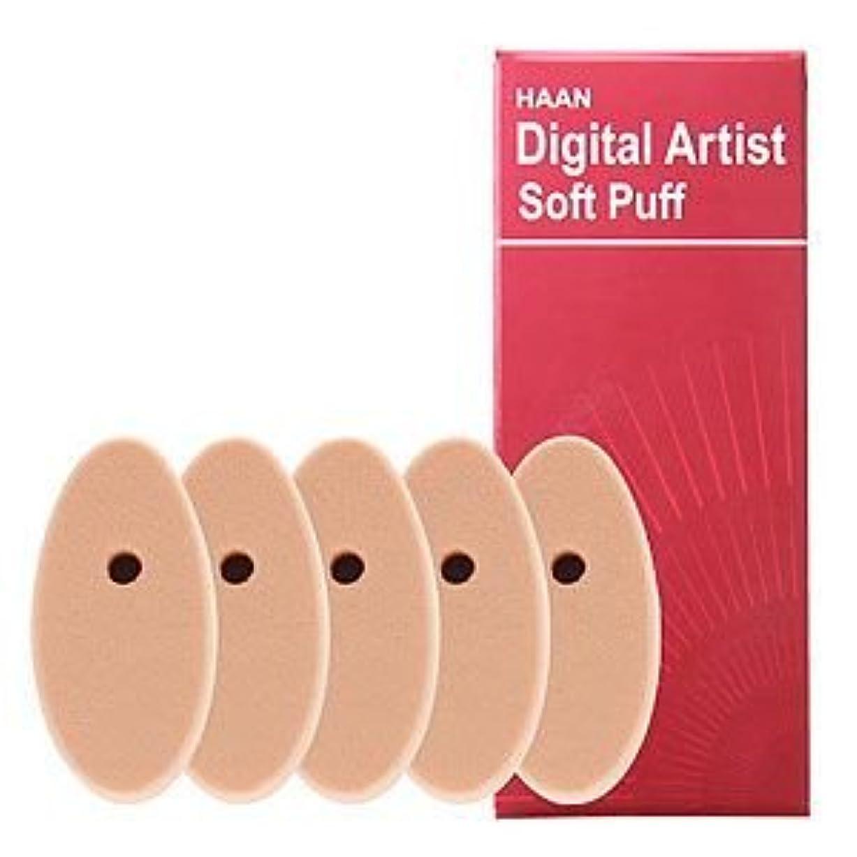閃光知っているに立ち寄る広々としたHAANデジタルアーティストHAANデジタルアーティスト専用ソフトパフ5個