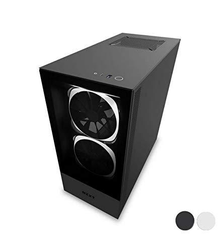 NZXT H510 Elite Mid Tower PC-Gaming-Gehäuse, Schwarz