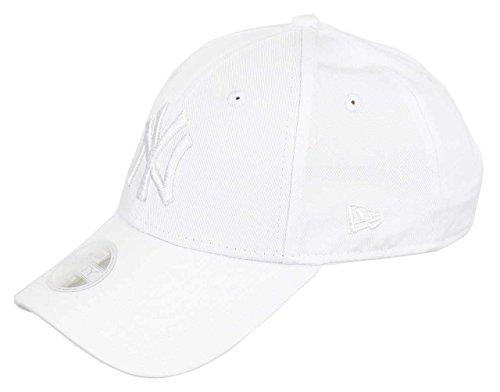 New Era New York Yankees MLB Cap New Era 9forty Damen Verstellbar Weiss - One-Size
