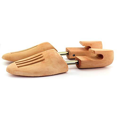 TelMo® Schub Schuhspanner aus Buchenholz, Gr. 46-48