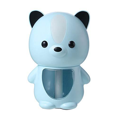 Nrpfell Humidificador USB MáQuina de Niebla FríA UltrasóNica para Mascotas de 200 Ml Difusor de Aceite AromáTico LáMpara Led Humidificador Azul