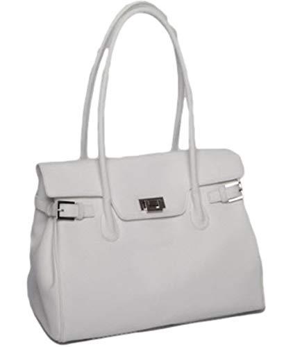 JOSYBAG MONACO Handtasche Ledertasche, Weiß