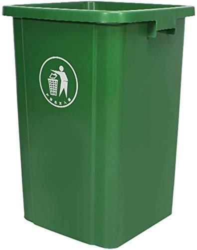 Dikker afval, afval buiten zonder deksel met hoge capaciteit, outdoor hygiëne zuiveringsdoos, vuilnisbak geclassificeerd voor recycling (Kleur: grijs)