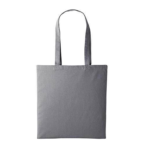 Nutshell Einkaufstasche/Henkeltasche (2 Stück/Packung) (Einheitsgröße) (Slate Grau)