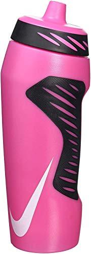 Nike Hyperfuel Water Bottle, 18 OZ, PHOTO PINK/BLACK