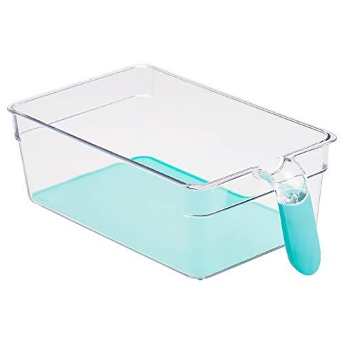AmazonBasics – Kühlschrank-Behälter mit Griff, mittelgroß