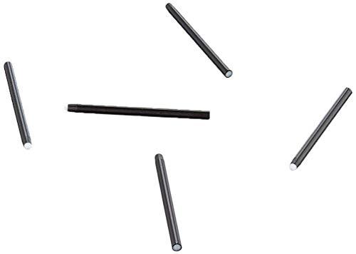 Wacom Pack de 5 Mines de Rechange Souples pour Stylet d'Intuos Pro et Intuos 4/5 - Noir