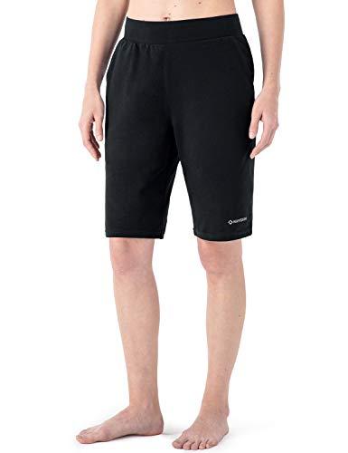 NAVISKIN Pantaloncini Sportivi Donna, Pantaloni Corti Leggeri da Donna con Tasche Grandi, Bermuda da...