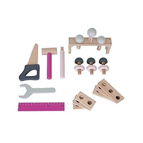 JaBaDaBaDo-Caja herramientas, color rosa W7106