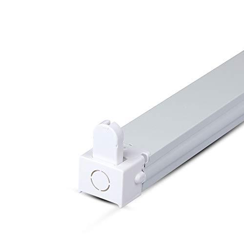 V-TAC 6054 Halter Fassung für 1 Stüc LED 120 cm zum Gebrauch mit Leuchtröhren VT-12020