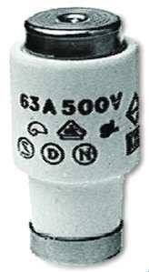 PROTEC.class PSI DIII 63A E33 tr Sicherung 63A E33 tr (5 Stück)