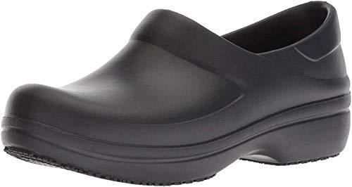 Crocs Neria Pro II Clog, Zuecos para Mujer, Negro (Black 001), 37/38 EU