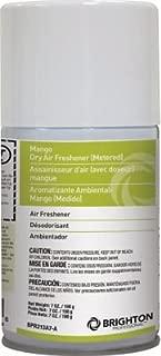 Brighton Professional Aerosol Refill Air Freshener, Mango, 7 Oz., 12/Ct
