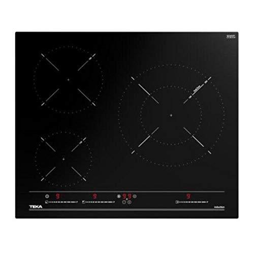 Teka - Placa de inducción Multislider de 60cm con 3 zonas de cocción - Negro - 5.8 x 60 x 51