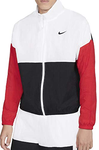 Nike M NK Dry STARTING5 JKT amarillo neón, blanco, negro y rojo universal., xx-large