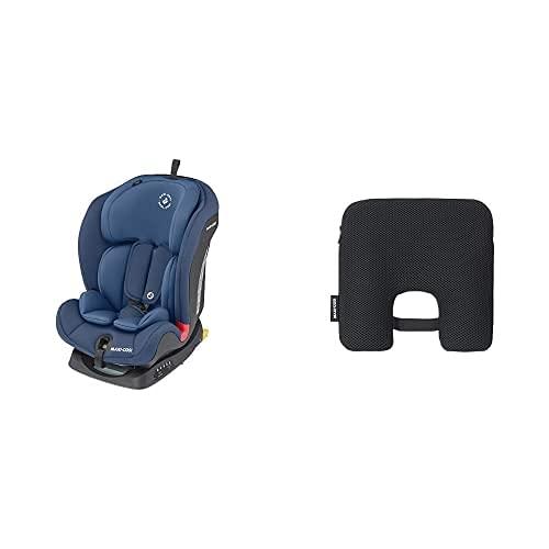 Maxi-Cosi Titan Silla Coche bebé grupo 1/2/3 isofix, 9-36 kg, silla auto bebé reclinable, crece con el niño desde 9 meses hasta 12 años + Dispositivo antiabandono para silla de coche