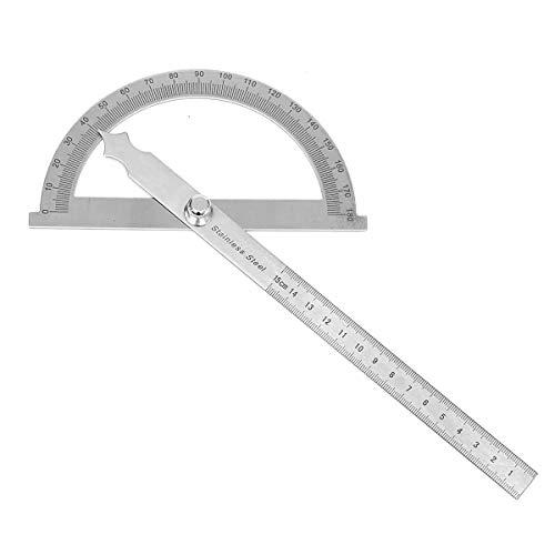 Ronda cabezal giratorio prolongador regla de medida de ángulo desmontable de acero inoxidable Para carpintero carpintería