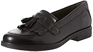 Geox Femme Jr Agata A School Uniform Shoe, Noir Black C9999, 37 EU , Lot de 2