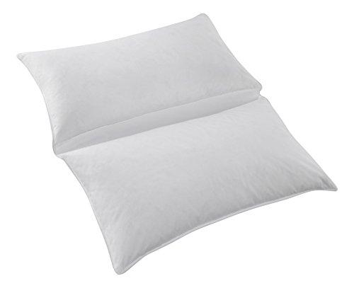 Manteuffel Nachtfalter 80x80cm Kopfkissen, Baumwolle, Weiß, 80x80x15 cm
