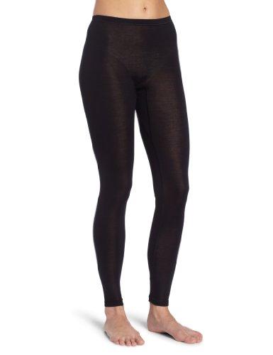 Hanro Damen Longleg Pure Silk Unterhose, Schwarz (black ), 36/38 (Herstellergröße: XS)
