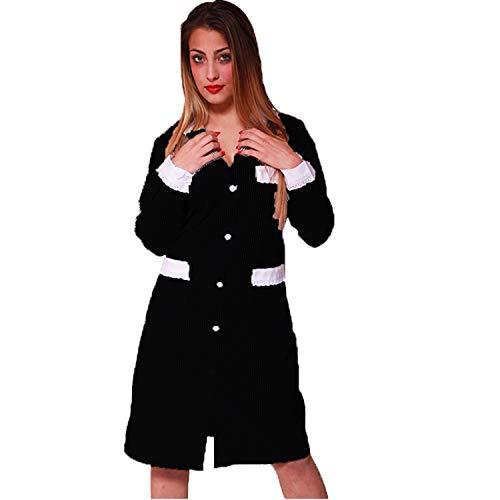 camicia donna 56 Camice Donna Cameriera Lavoro Pulizie Casacca Cotone Camera Domestica casa (56