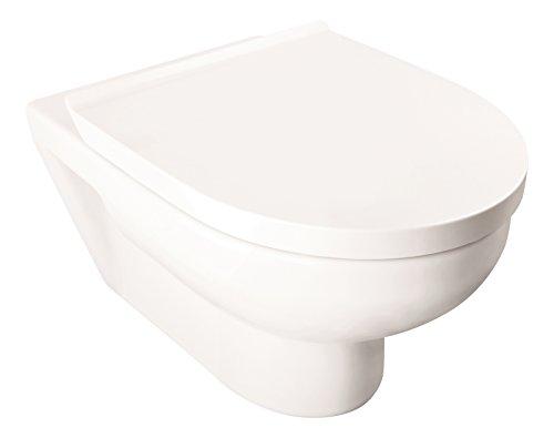 Duravit Basic | Wand-WC-Set rimless | weiß