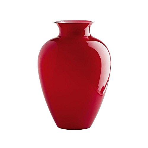 Venini Labuan Vase klein opal rot 70663