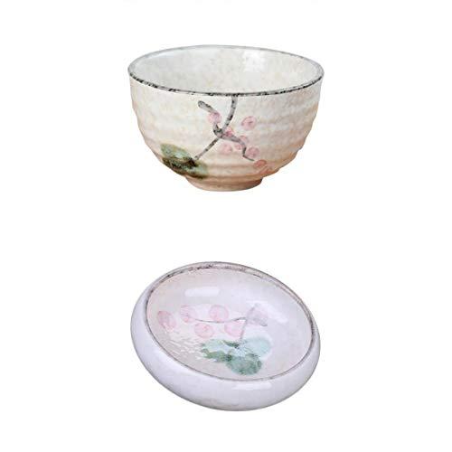 LOVIVER Sauce Dish Wasabi Plate Bowl Set Ceramic Tableware Trinket Microwave Safe