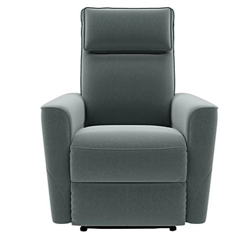 Z-Color Reclinable reclinable reclinable de Tela para el sillón reclinable para el hogar Que se Puede inclinar a 145 Grados de Asiento Grueso y el reclinable para el Respaldo del Respaldo es Adecuado