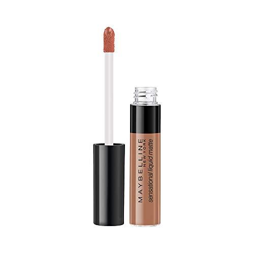 Maybelline New York Sensational Liquid Matte Lipstick 07, Barely Nude, 7G.