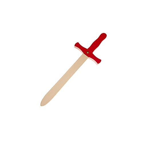 Juguetutto - Espada de Madera - Rojo. Juguete de Madera