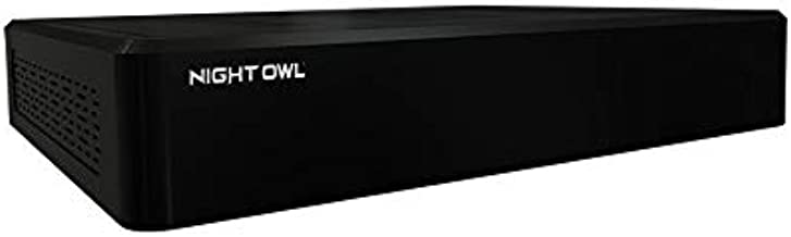 Night Owl 4K Ultra HD Wired Home Security DVR with Customizable Storage, Human Detection Technology, Add up to a Total of 12 Wired Cameras