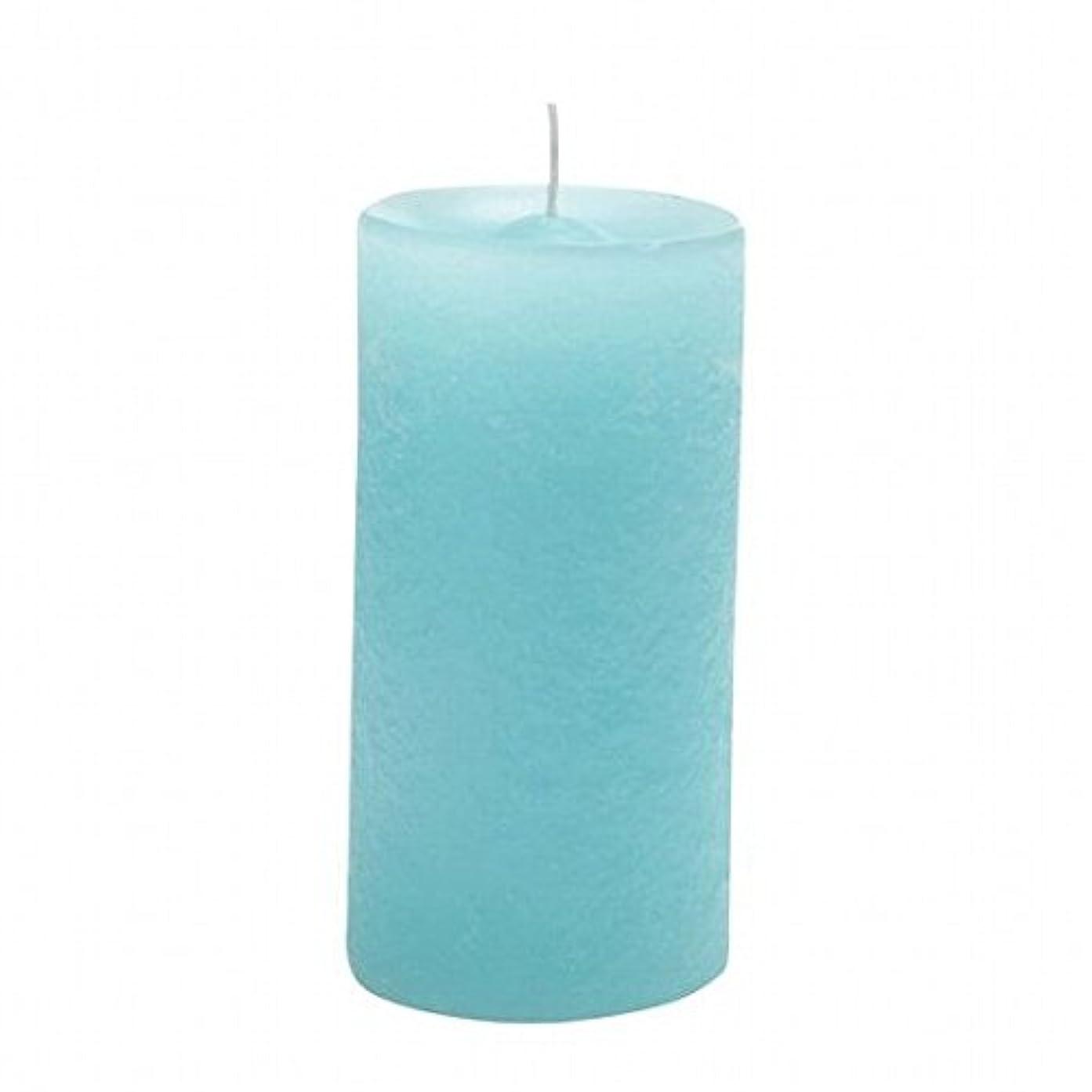 希少性昼食論争の的YANKEE CANDLE(ヤンキーキャンドル) ラスティクピラー50×100 「 ライトブルー 」(A4930020LB)