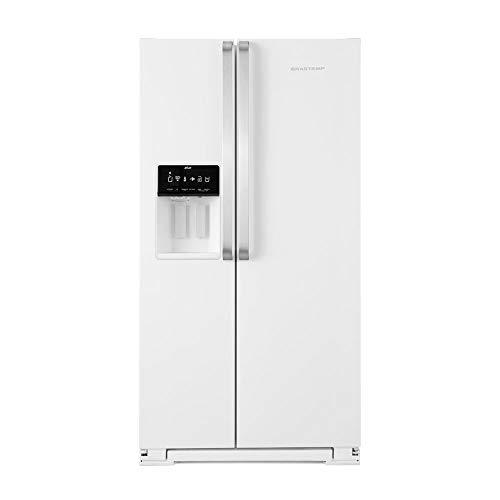 Geladeira Brastemp Frost Free Side by Side 560 litros Branca com Dispenser de Água e Gelo - 110V