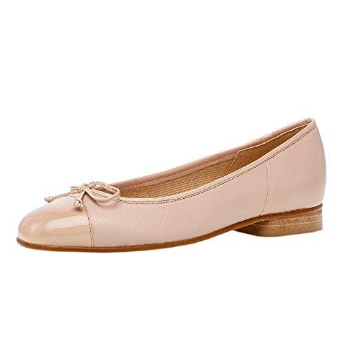 Gabor Shoes Damen Casual Geschlossene Ballerinas, Beige (New Rose/Sand 74), 41 EU