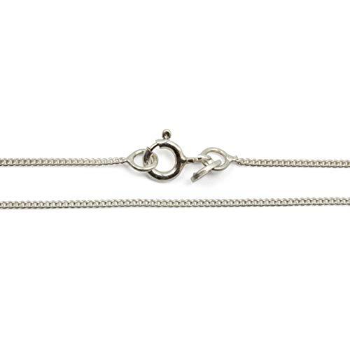 Züssi Gliederkette - hochwertige Silberkette - 925er Sterling Silber - Elegante Silberschmuck Halskette mit Ringverschluss
