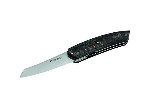 MASERIN AM5 Couteau de Poche, Noir, Manche 12 cm