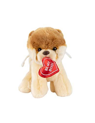 GUND Boo World's Cutest Dog Valentine's Day Cupid Angel Plush Stuffed Animal, 9