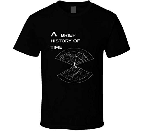 S/O A Brève Histoire du Temps Stephen Hawking T-shirt - Noir - Large