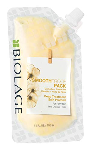 Biolage, Mascarilla SmoothProof Deep Treatment para Cabello Encrespado y Rebelde - 100 ml