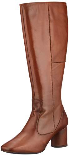 Bianco Damen Long Dress Boot Hohe Stiefel, Braun (Cognac 240), 36 EU
