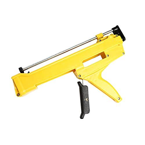 Power Pro Heavy Duty Sellador/Adhesivo Cartucho pistola aplicadora amarillo