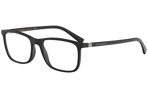 Dolce & Gabbana Eyeglasses D&G DG5027 DG/5027 2525 Mt Black Optical Frame 55mm