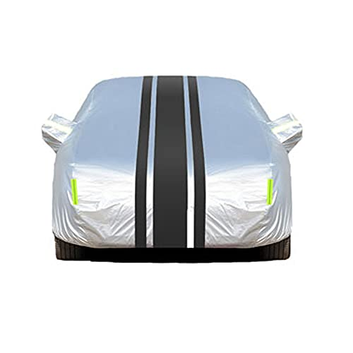 SXLHZPD Funda Coche Funda para Coche Exterior Completa Compatible con BMW X5 M | Lona De Coche De Tela Oxford Transpirable Impermeable Multicapa con Tiras Reflectantes (Color : A)