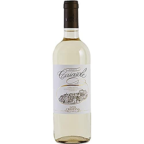 【滑らかな口当たりのフルーティな白ワイン】カザソーレ・オルヴィエート・クラシコ[白ワイン辛口イタリア750ml]
