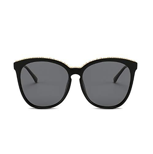 ERKEJI Gafas de Sol Mujer Gafas de Sol polarizadas para Mujer Gafas de Sol de Alta Gama para Gafas de Sol Anti-UV