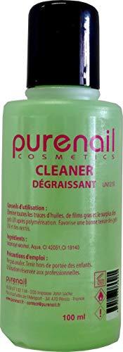 Nail Cleaner Dégraissant pour Gel UV et Faux Ongles, 100 ml - Livraison Gratuite en France