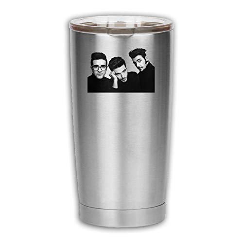 Il Volo 18oz Tumbler Double Wall Vacuum Insulated Travel Mug, Stainless Steel Coffee Tumbler With Lid 550ml, Keep Drinks Cold & Hot -  MichaelKHazzard