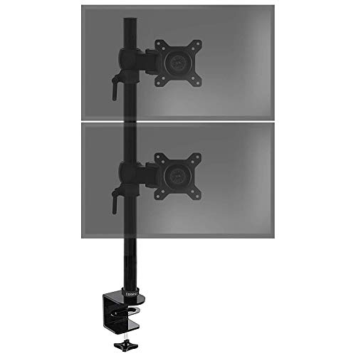 Duronic DM35V2X1 Vertical Dual Monitor Bracket